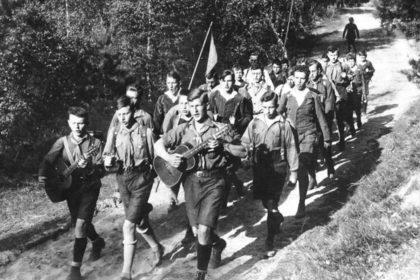Groupe de Wandervogel vers 1930
