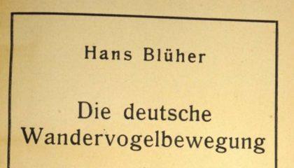 Blüher, Hans - Die deutsche Wandervogelbewegung