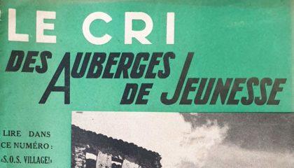 Le cri des Auberges de Jeunesse - 1938