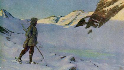 Erler, Erich - La sérénité de l'hiver - Peinture
