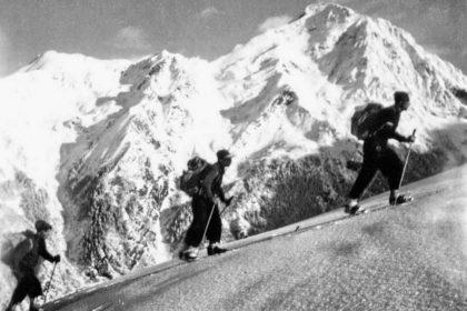 Collection JMOllivier - Raid Jeunesse et Montagne - La caravane de skieurs du raid Urdos-Luchon - 1942_05_1250