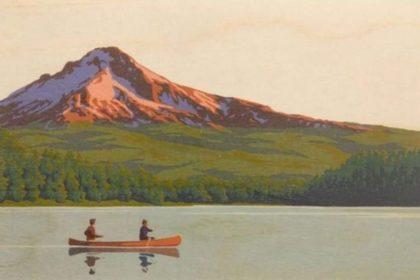 Camping-Canoe