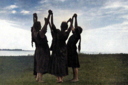 Danse et art ajiste - veillée-Colorized