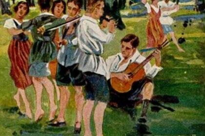 La jeunesse allemande - Wandervögel - Otto Amtsberg